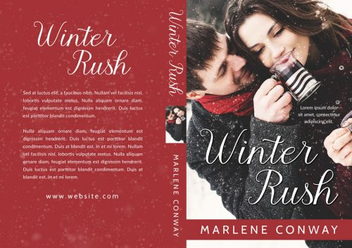 Winter Rush - Winter Romance Premade Book Cover For Sale @ Beetiful Book Covers