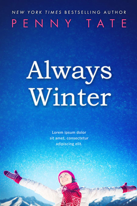 Always Winter - Winter Fiction Premade Book Cover For Sale @ Beetiful Book Covers