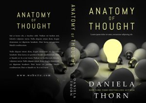 Anatomy of Thought - Non-fiction Premade Book Cover For Sale @ Beetiful Book Covers