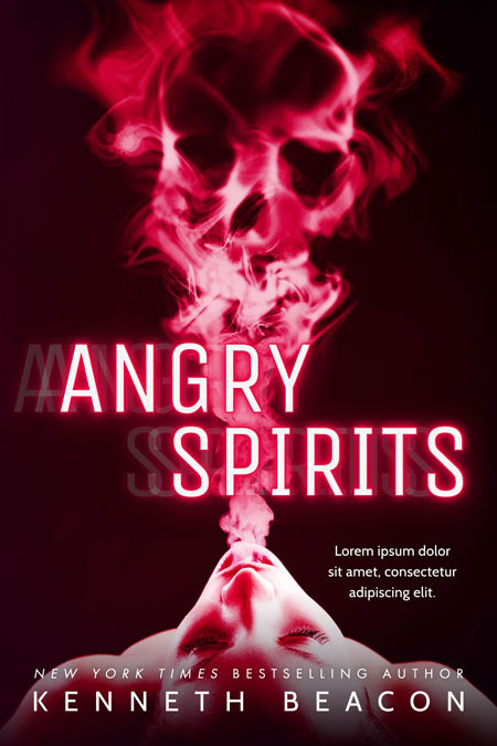 Angry Spirits - Horror Premade Book Cover For Sale @ Beetiful Book Covers