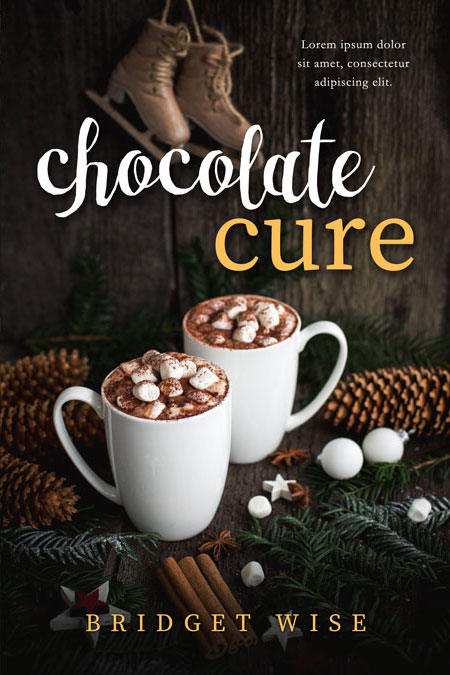Chocolate Cure - Winter Premade Book Cover For Sale @ Beetiful Book Covers