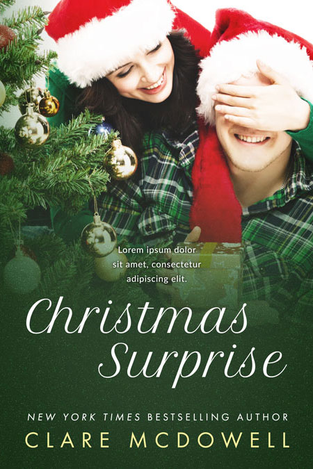 Christmas Surprise - Christmas Romance Premade Book Cover For Sale @ Beetiful Book Covers