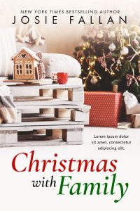 Christmas With Family - Christmas Premade Book Cover For Sale @ Beetiful Book Covers