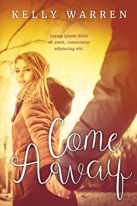 Come Away - Young Adult / New Adult Romance Premade Book Cover For Sale @ Beetiful Book Covers