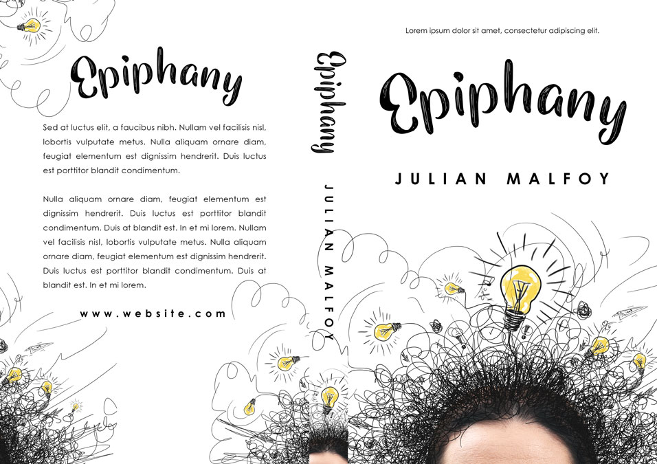 Epiphany - Non-fiction Premade Book Cover For Sale @ Beetiful Book Covers