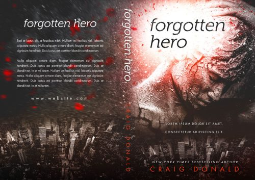 Forgotten Hero - Fantasy Premade Book Cover For Sale @ Beetiful Book Covers