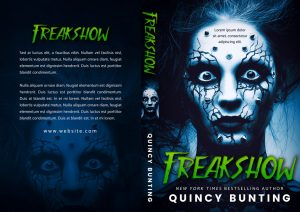 Freakshow - Horror Premade Book Cover For Sale @ Beetiful Book Covers