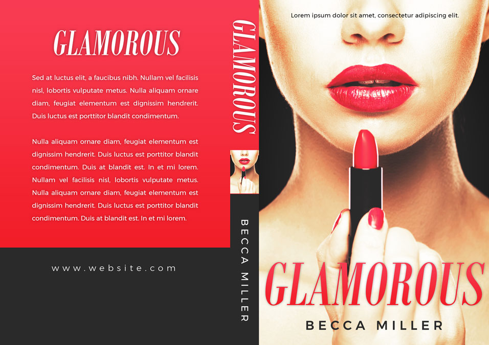 Glamorous - Chick-lit Romance Premade Book Cover For Sale @ Beetiful Book Covers