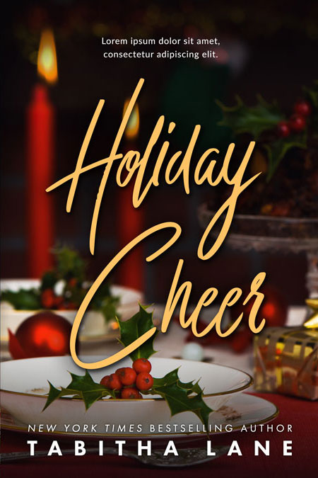 Holiday Cheer - Christmas Premade Book Cover For Sale @ Beetiful Book Covers