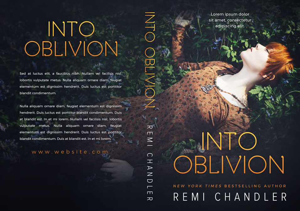 Into Oblivion - Mystery Premade Book Cover For Sale @ Beetiful Book Covers