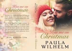 Kiss Me On Christmas - Winter Romance Premade Book Cover For Sale @ Beetiful Book Covers