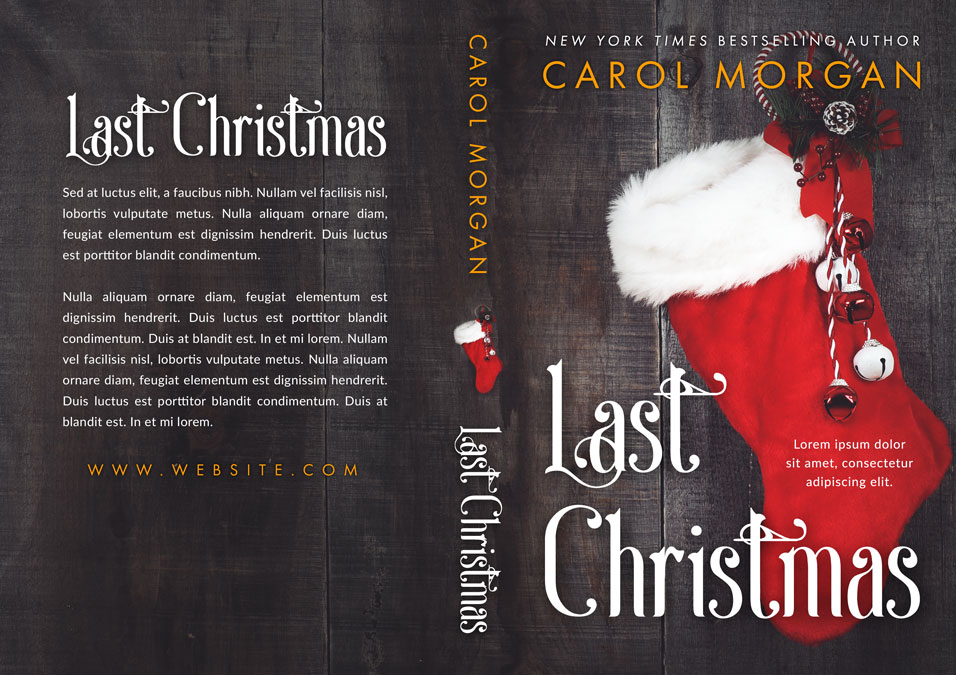 Last Christmas - Christmas Premade Book Cover For Sale @ Beetiful Book Covers