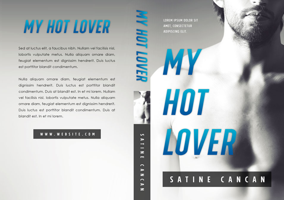 My Hot Lover - Erotic Romance Premade Book Cover For Sale @ Beetiful Book Covers