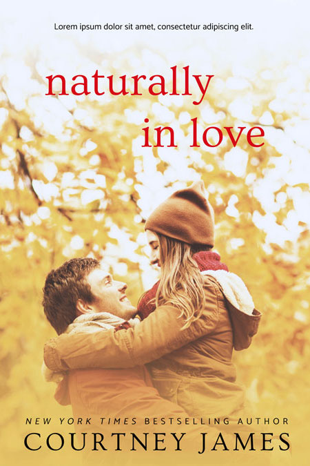Naturally In Love - Romance Premade Book Cover For Sale @ Beetiful Book Covers