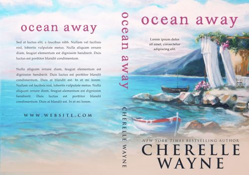 Ocean Away - Women's Fiction Premade Book Cover For Sale @ Beetiful Book Covers
