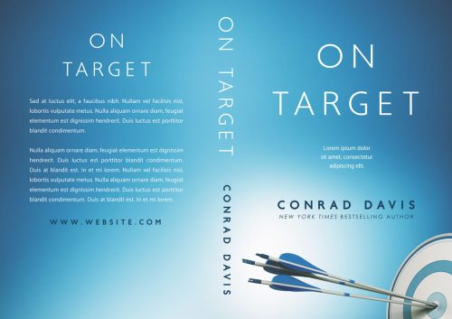 On Target - Business Pre-made Book Cover For Sale @ Beetiful Book Covers