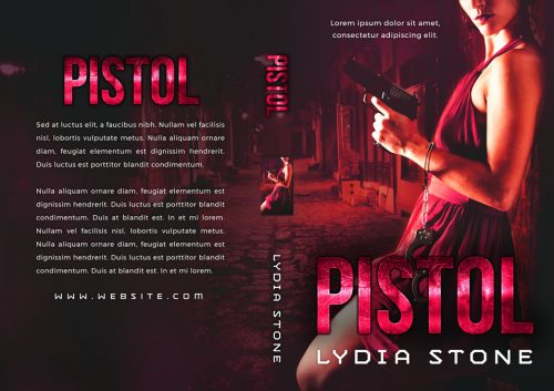 Pistol - Action / Romantic Suspense Premade Book Cover For Sale @ Beetiful Book Covers