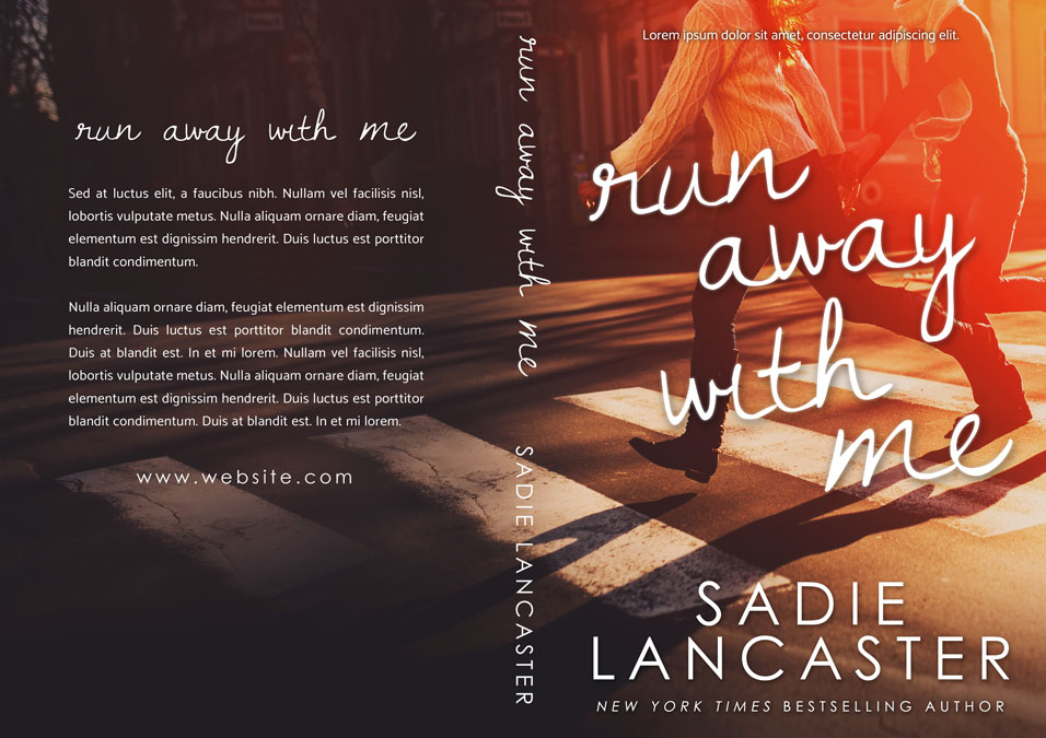 Ya Romance Book Cover : Run away with me young adult romance premade book cover