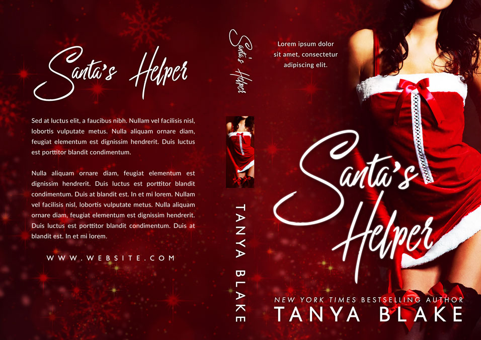Santa's Helper - Christmas Erotic Romance Premade Book Cover For Sale @ Beetiful Book Covers