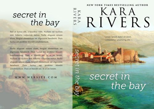 Secret in the Bay - Women's Fiction Premade Book Cover For Sale @ Beetiful Book Covers