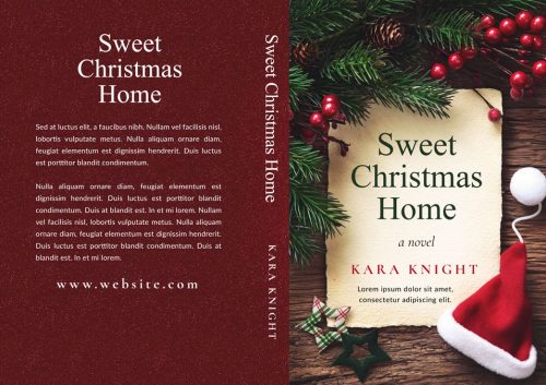 Sweet Christmas Home - Christmas Premade Book Cover For Sale @ Beetiful Book Covers