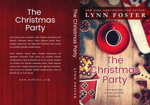 The Christmas Party - Christmas Premade Book Cover For Sale @ Beetiful Book Covers