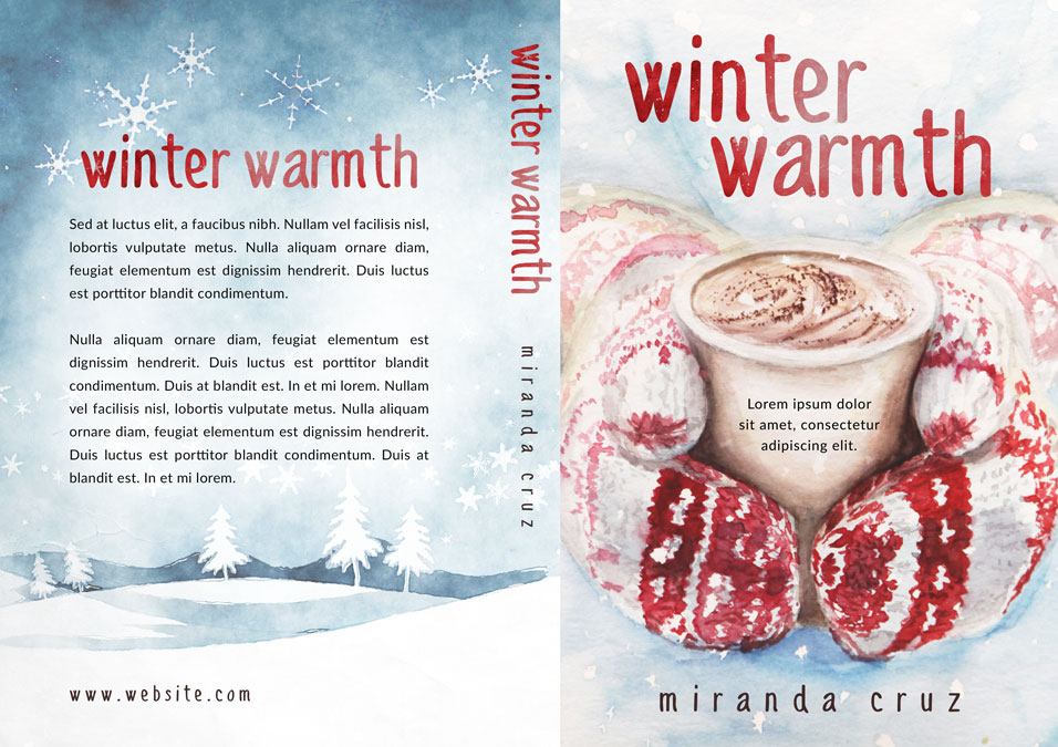 Winter Warmth - Christmas Fiction Premade Book Cover For Sale @ Beetiful Book Covers