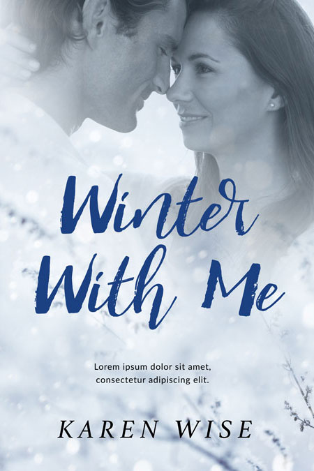Winter With Me - Winter Romance Premade Book Cover For Sale @ Beetiful Book Covers