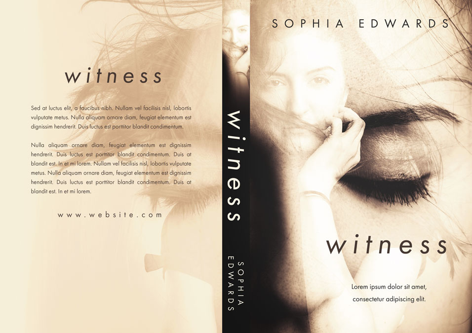 Witness - Mystery / Psychological Thriller Premade Book Cover For Sale @ Beetiful Book Covers