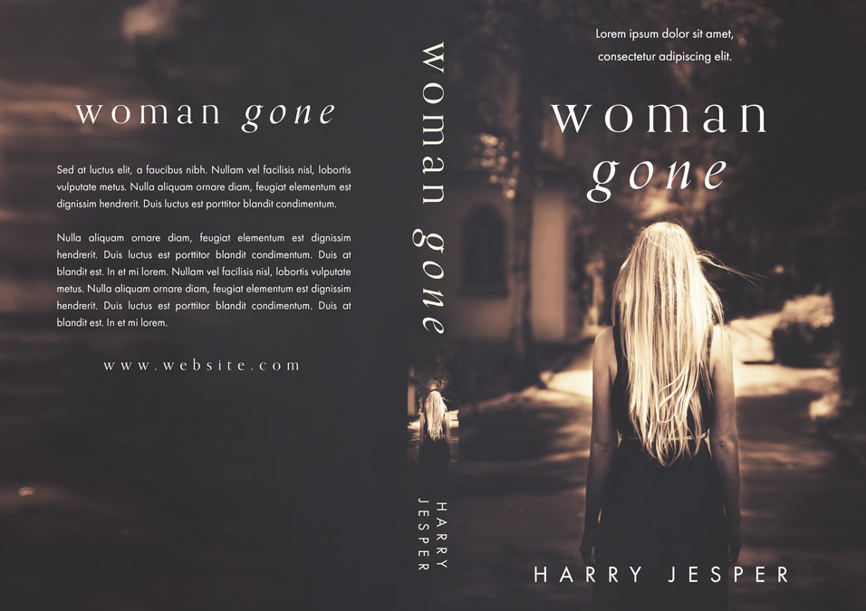 Woman Gone - Mystery / Psychological Thriller Premade Book Cover For Sale @ Beetiful Book Covers