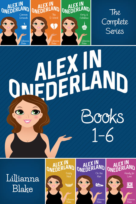 Alex in Onederland Bundle: Books 1-6 by Lillianna Blake