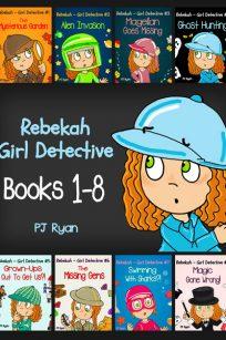 Rebekah - Girl Detective Books 1-8 by PJ Ryan