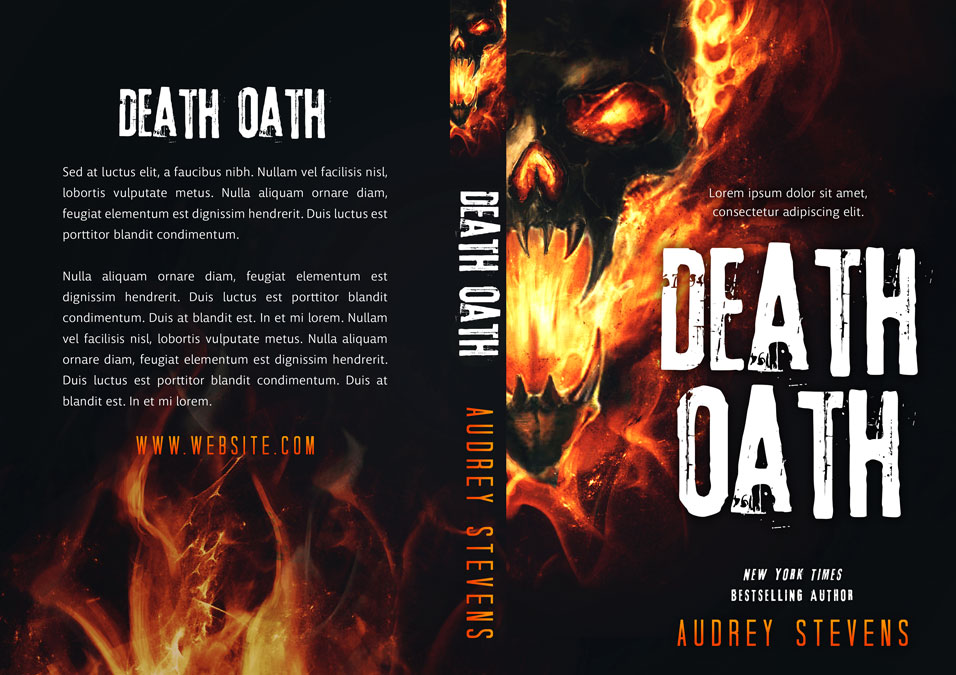 Death Oath - Horror Premade Book Cover For Sale @ Beetiful Book Covers