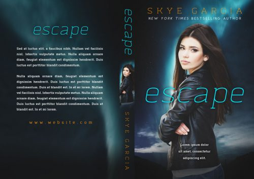 Escape - Science Fiction Premade Book Cover For Sale @ Beetiful Book Covers