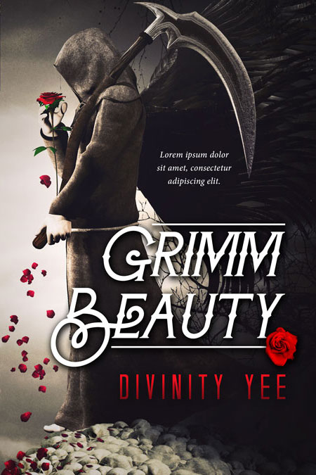 Grimm Beauty - Fantasy Premade Book Cover For Sale @ Beetiful Book Covers