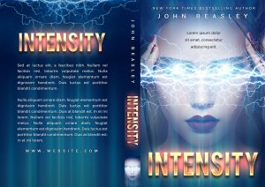 Intensity - Science Fiction Premade Book Cover For Sale @ Beetiful Book Covers
