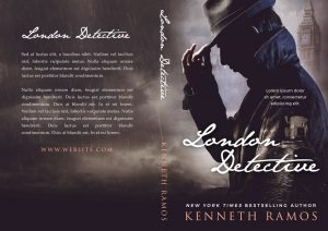 London Detective - Mystery Premade Book Cover For Sale @ Beetiful Book Covers