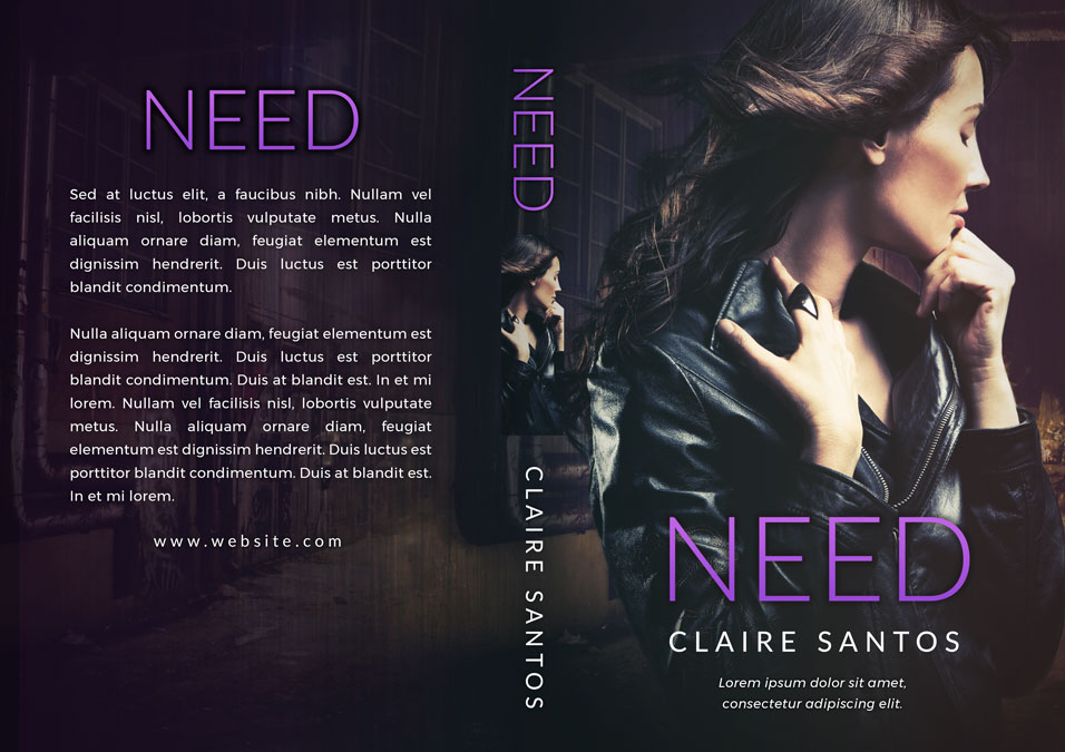 Need - Romantic Suspense Premade Book Cover For Sale @ Beetiful Book Covers