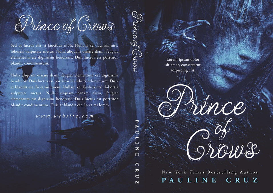 Prince of Crows - Fantasy Premade Book Cover For Sale @ Beetiful Book Covers