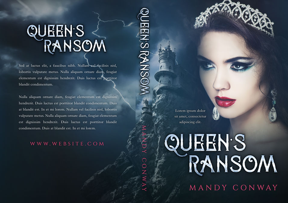 Queen's Ransom - Fantasy Premade Book Cover For Sale @ Beetiful Book Covers
