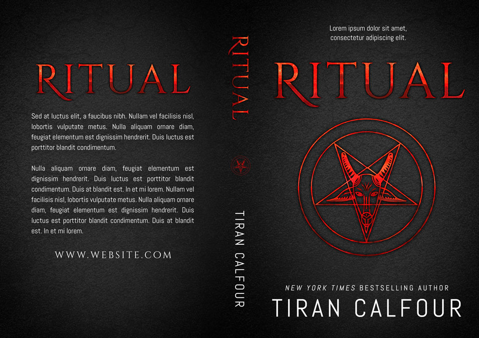 Ritual - Horror Premade Book Cover For Sale @ Beetiful Book Covers