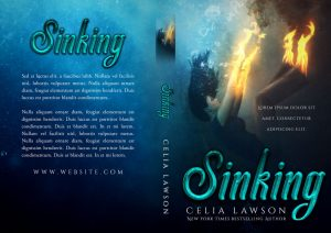 Sinking - Fantasy Premade Book Cover For Sale @ Beetiful Book Covers