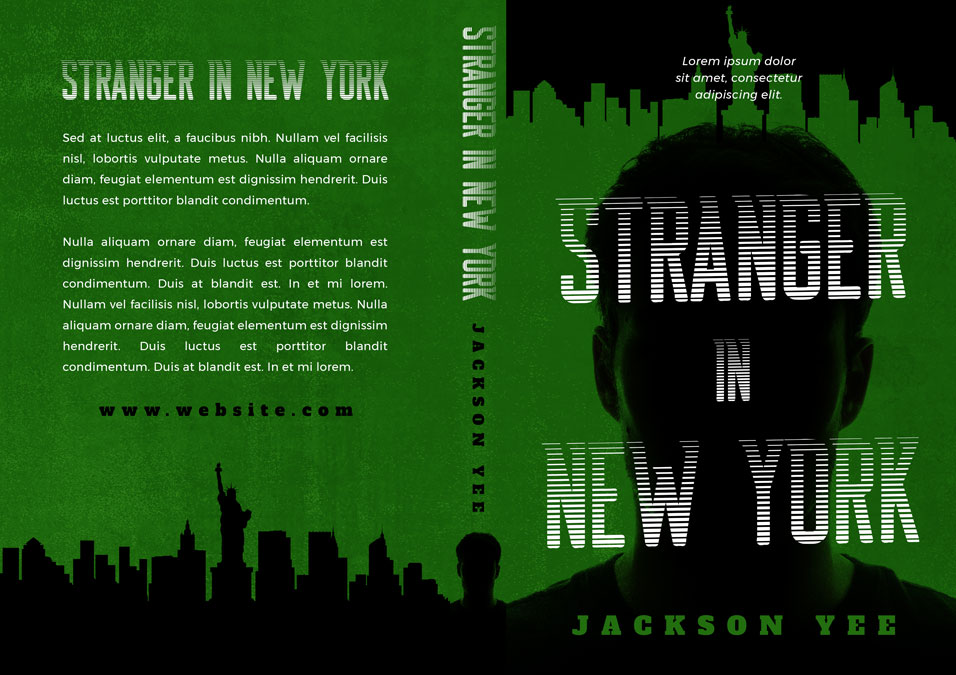Stranger in New York - Action / Thriller / Suspense Premade Book Cover For Sale @ Beetiful Book Covers