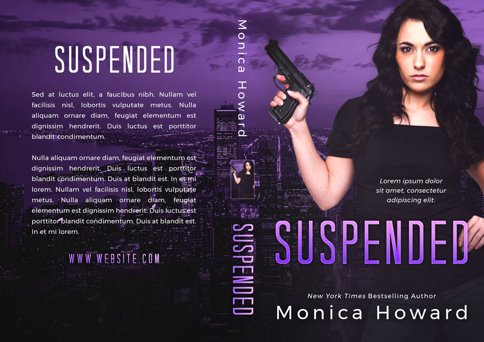 Suspended - Romantic Suspense Premade Book Cover For Sale @ Beetiful Book Covers