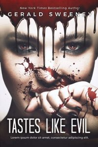 Tastes Like Evil - Horror Premade Book Cover For Sale @ Beetiful Book Covers