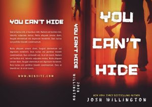 You Can't Hide - Horror Premade Book Cover For Sale @ Beetiful Book Covers