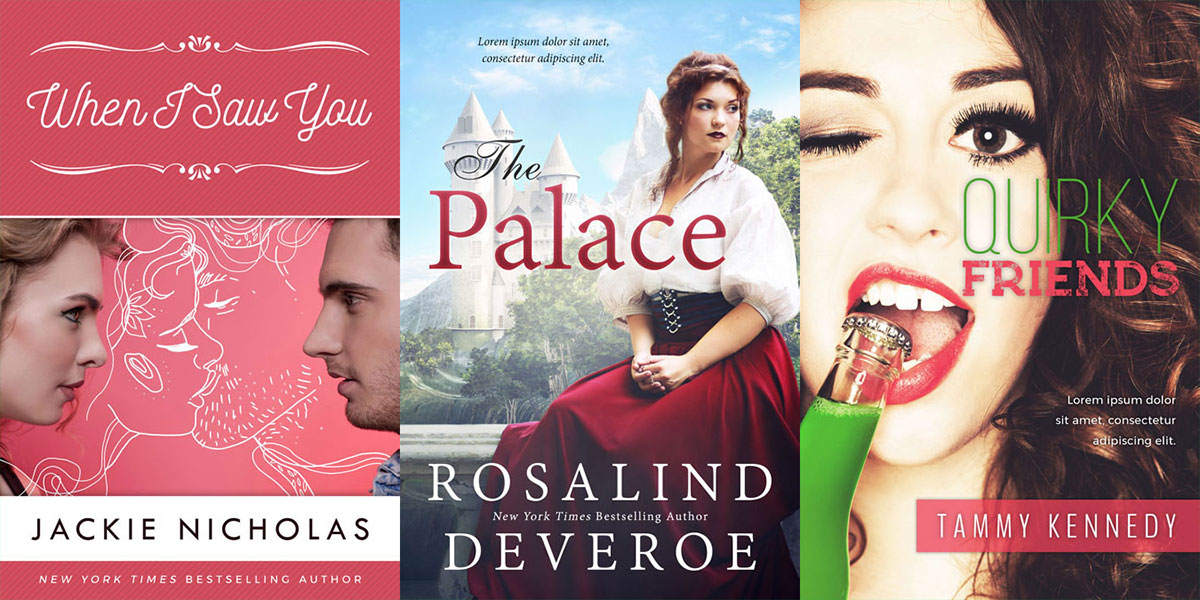 47 New Romance, Women's Fiction and a few Young Adult Book Covers