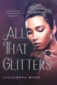 All That Glitters - Asian-American Fiction Premade Book Cover For Sale @ Beetiful Book Covers