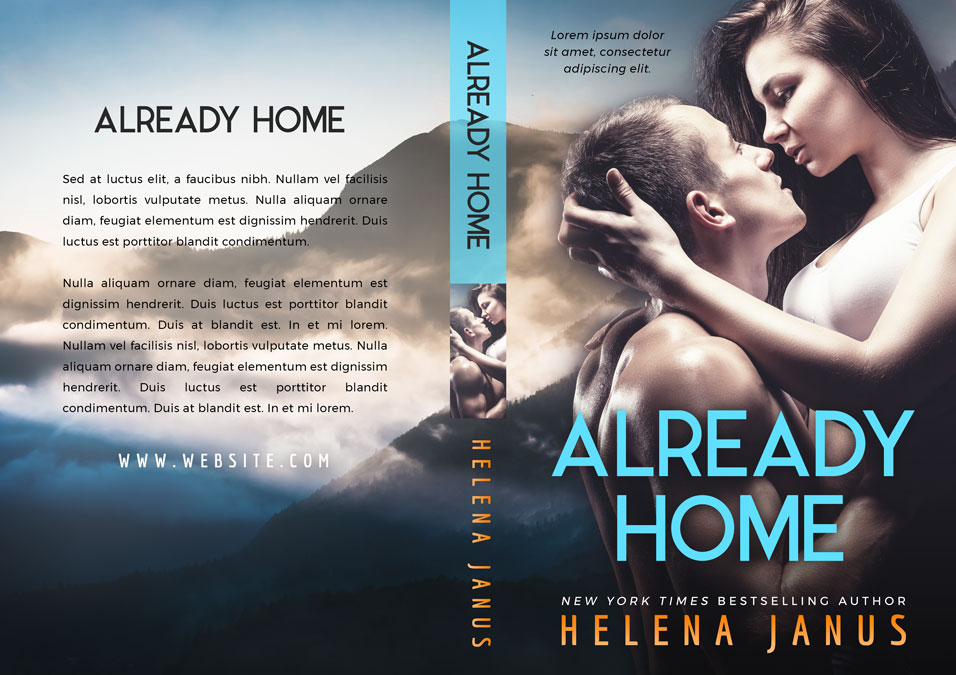 Already Home - Romance Premade Book Cover For Sale @ Beetiful Book Covers