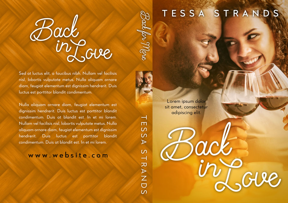 Back In Love - African-American Premade Book Cover For Sale @ Beetiful Book Covers
